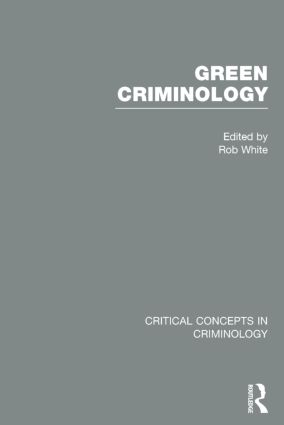 Green Criminology book cover