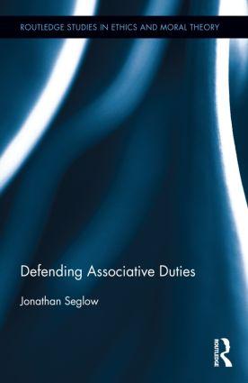 Defending Associative Duties (Hardback) book cover