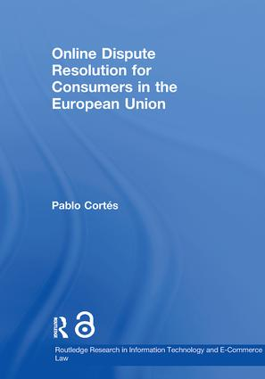 Online Dispute Resolution for Consumers in the European Union (Paperback) book cover