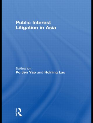 Public Interest Litigation in Asia book cover