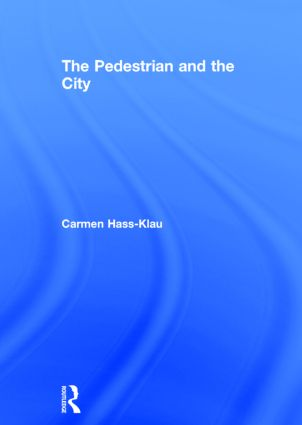The Pedestrian and the City book cover