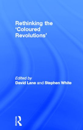 Rethinking the 'Coloured Revolutions' (Paperback) book cover
