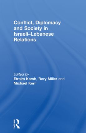Conflict, Diplomacy and Society in Israeli-Lebanese Relations (Paperback) book cover