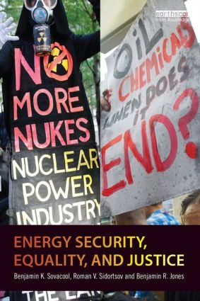 Energy Security, Equality and Justice (Paperback) book cover