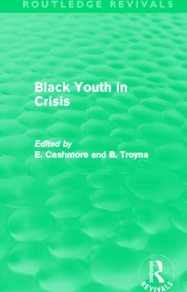Black Youth in Crisis (Routledge Revivals) (Hardback) book cover