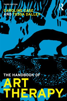 The Handbook of Art Therapy: 3rd Edition (Paperback) book cover