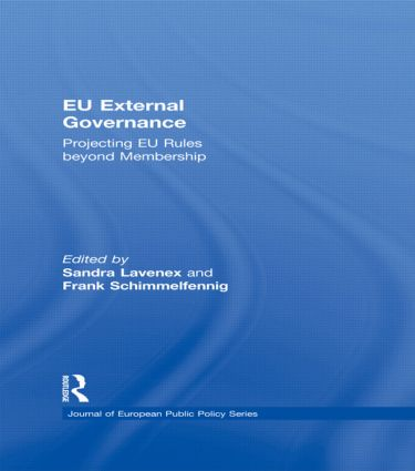 EU External Governance: Projecting EU Rules beyond Membership (Paperback) book cover
