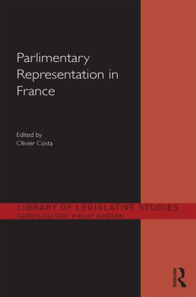 Parliamentary Representation in France (Hardback) book cover