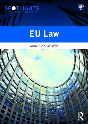 EU Law: 1st Edition (Paperback) book cover