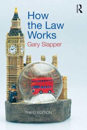 How the Law Works: 3rd Edition (Paperback) book cover