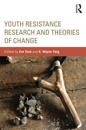 Youth Resistance Research and Theories of Change (Paperback) book cover