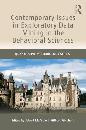 Contemporary Issues in Exploratory Data Mining in the Behavioral Sciences (Paperback) book cover
