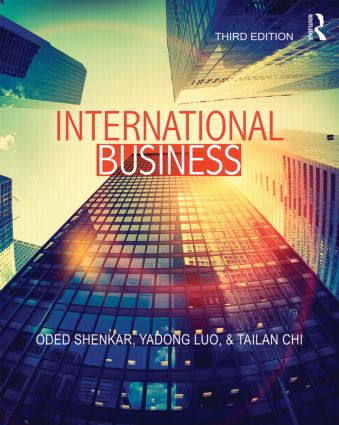 International Business: 3rd Edition (Paperback) book cover