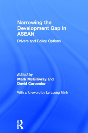 Narrowing the Development Gap in ASEAN: Drivers and Policy Options (Hardback) book cover