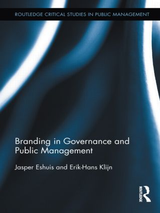 Branding in Governance and Public Management (Paperback) book cover