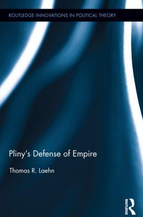 Pliny's Defense of Empire (Hardback) book cover