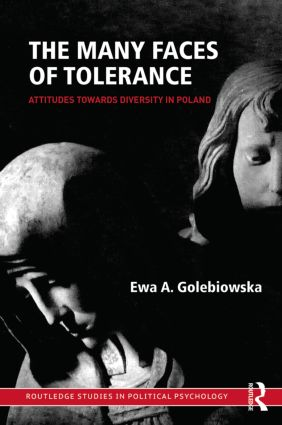 The Many Faces of Tolerance: Attitudes toward Diversity in Poland (Hardback) book cover