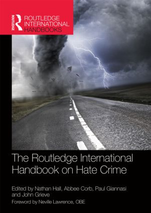 The Routledge International Handbook on Hate Crime (Hardback) book cover