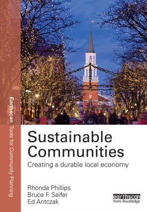 Sustainable Communities: Creating a Durable Local Economy book cover