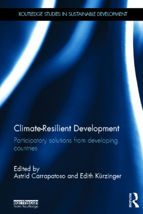 Climate-Resilient Development: Participatory solutions from developing countries (Hardback) book cover