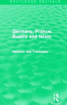 Germany, France, Russia and Islam (Routledge Revivals) (Hardback) book cover