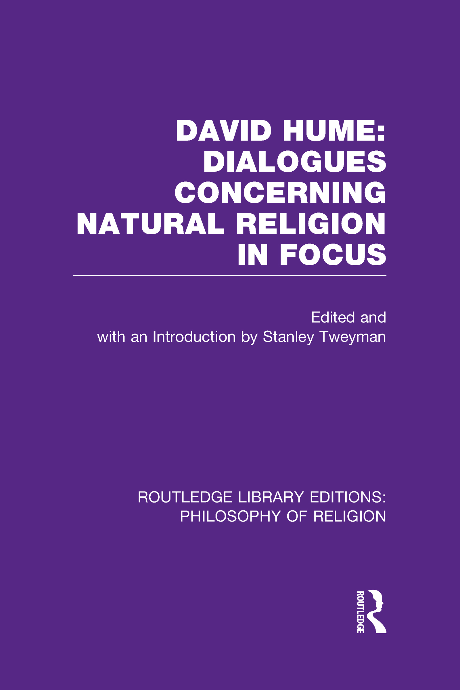David Hume: Dialogues Concerning Natural Religion In Focus (Hardback) book cover