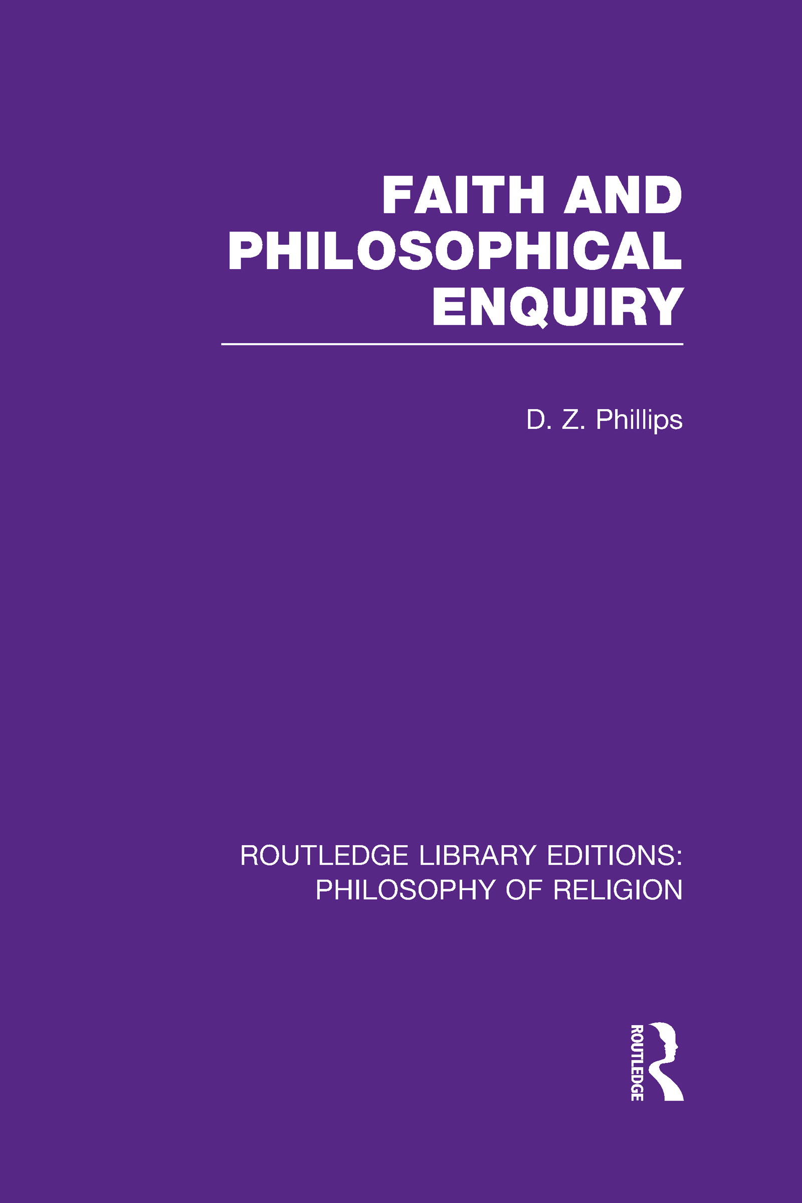 Faith and Philosophical Enquiry (Hardback) book cover