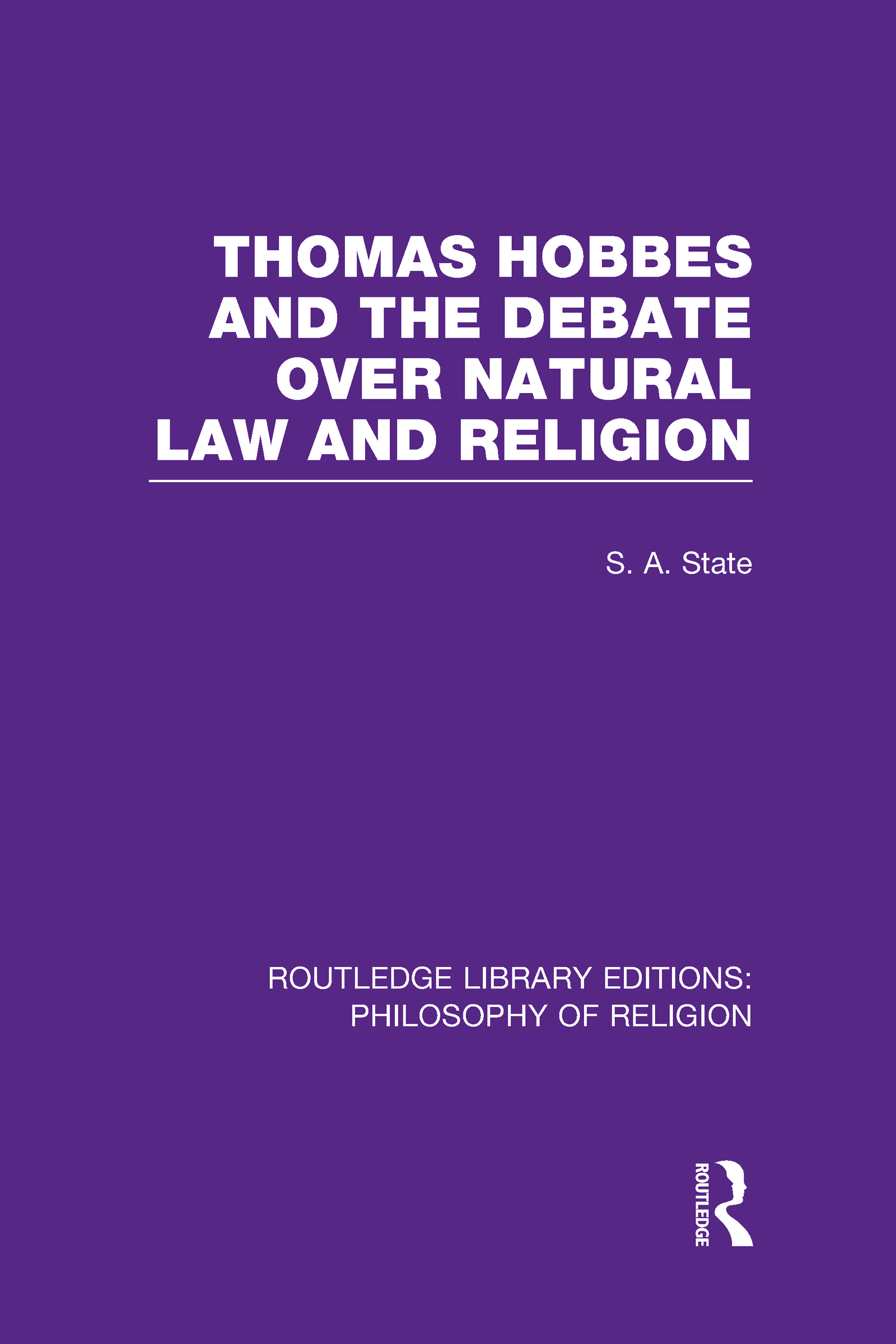 Thomas Hobbes and the Debate over Natural Law and Religion (Hardback) book cover