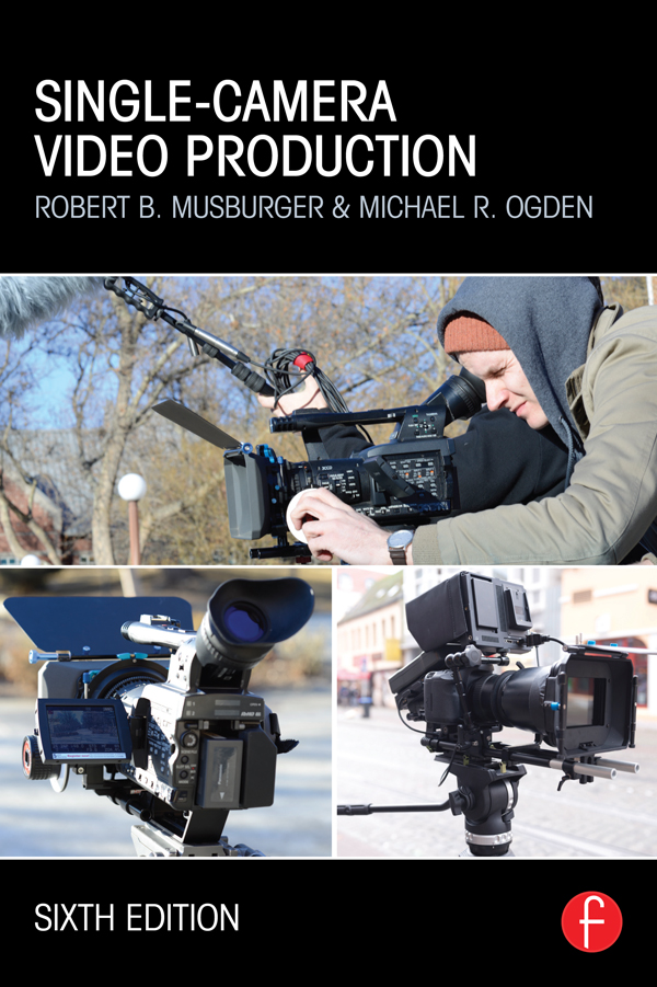 Single-Camera Video Production book cover