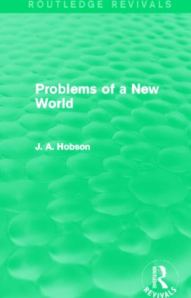 Problems of a New World (Routledge Revivals): 1st Edition (Paperback) book cover