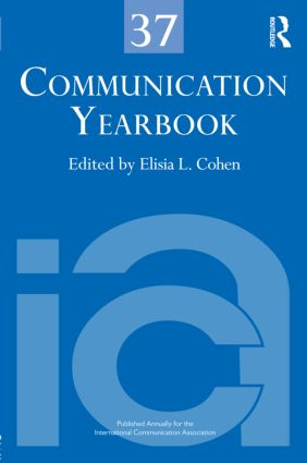 Communication Yearbook 37 (Hardback) book cover