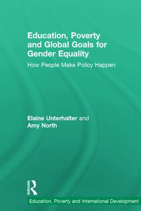 Education, Poverty and Global Goals for Gender Equality: How People Make Policy Happen (Hardback) book cover