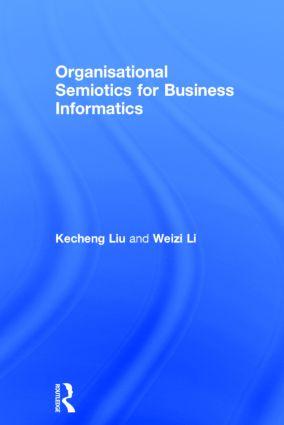 Organisational Semiotics for Business Informatics: 1st Edition (Hardback) book cover
