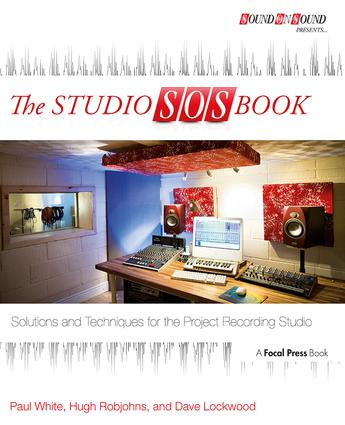 The Studio SOS Book: Solutions and Techniques for the Project Recording Studio (Paperback) book cover