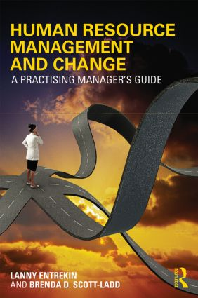 Human Resource Management and Change: A Practising Manager's Guide, 1st Edition (Paperback) book cover