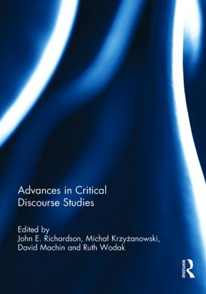Advances in Critical Discourse Studies (Hardback) book cover