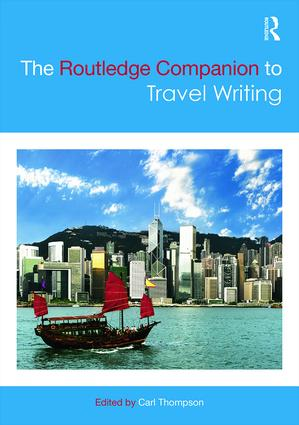 The Routledge Companion to Travel Writing book cover