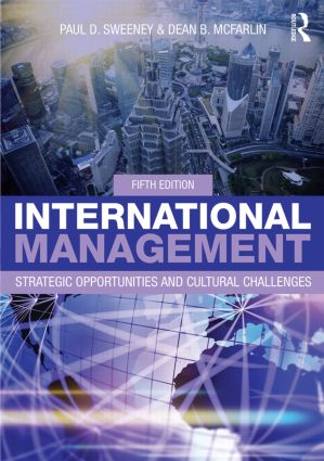 International Management: Strategic Opportunities and Cultural Challenges, 5th Edition (Paperback) book cover