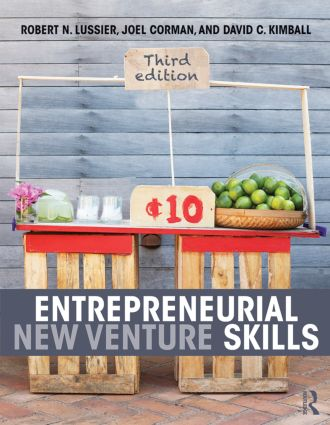 Entrepreneurial New Venture Skills: 3rd Edition (Paperback) book cover