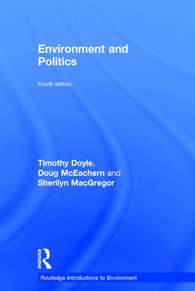 Environment and Politics: 4th Edition (Hardback) book cover