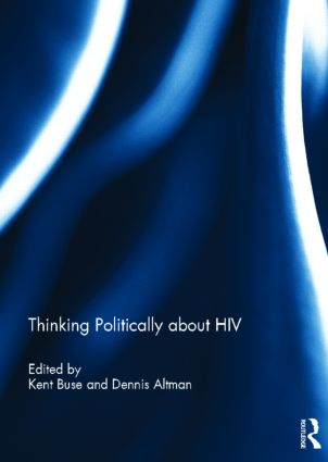 Thinking Politically about HIV (Hardback) book cover