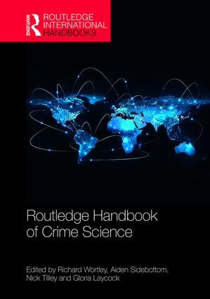 Routledge Handbook of Crime Science book cover
