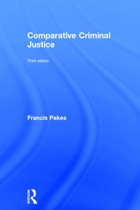 Comparative Criminal Justice book cover