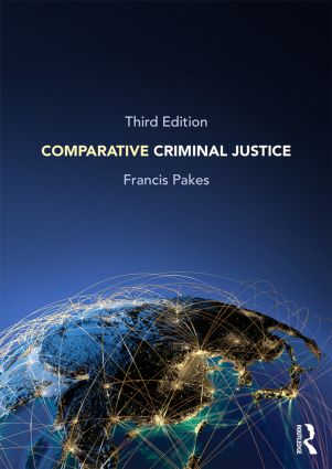 Comparative Criminal Justice: 3rd Edition (Paperback) book cover