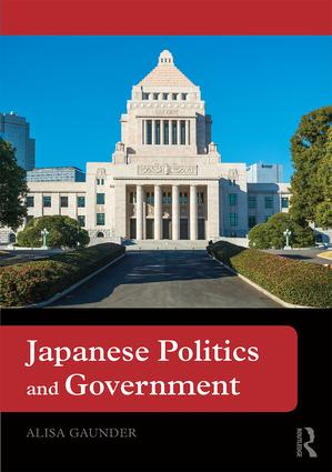 Japanese Politics and Government (Paperback) book cover