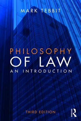 Philosophy of Law: An Introduction book cover