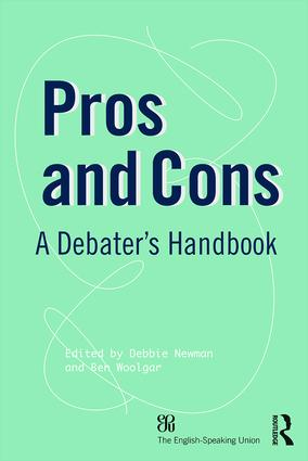 Pros and Cons: A Debaters Handbook, 19th Edition (Paperback) book cover