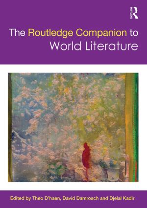 The Routledge Companion to World Literature book cover