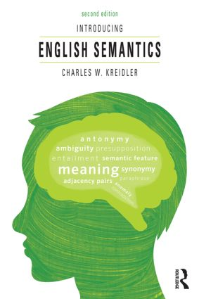 Introducing English Semantics: 2nd Edition (Paperback) book cover