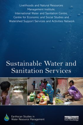 Sustainable Water and Sanitation Services: The Life-Cycle Cost Approach to Planning and Management (Hardback) book cover